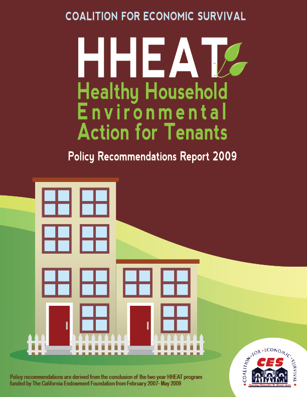 Healthy Homes Report & Recommendations to Address Sub-Standard Housing Conditions